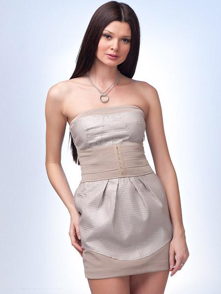 Платье бандо 9